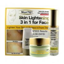 Nur76 Skin Lightening ADVANCED 3-in-1 - Serum, Cream & Protector