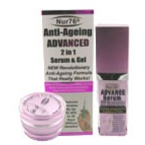 Nur76® Anti-Ageing Advanced 2 in 1 Serum & Gel