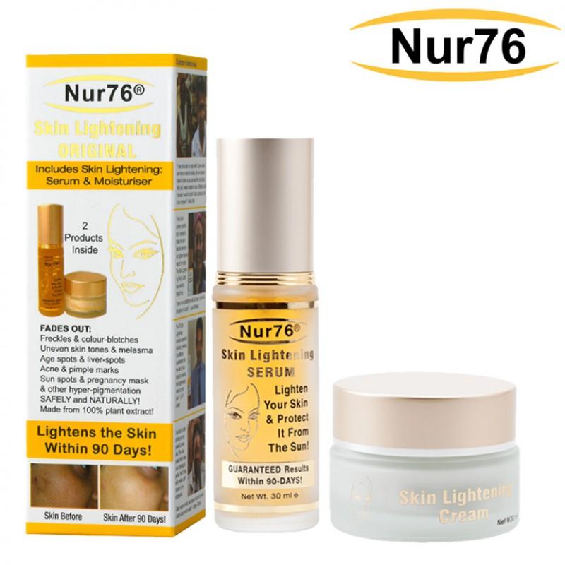 Nur76 Skin Lightening Original Serum & Cream